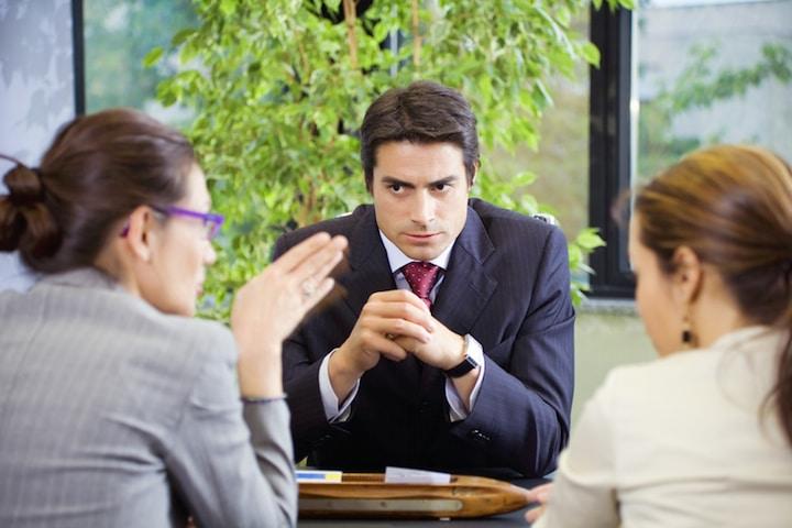 Arbeitgeber Schwangere | © panthermedia.net /Diego Cervo