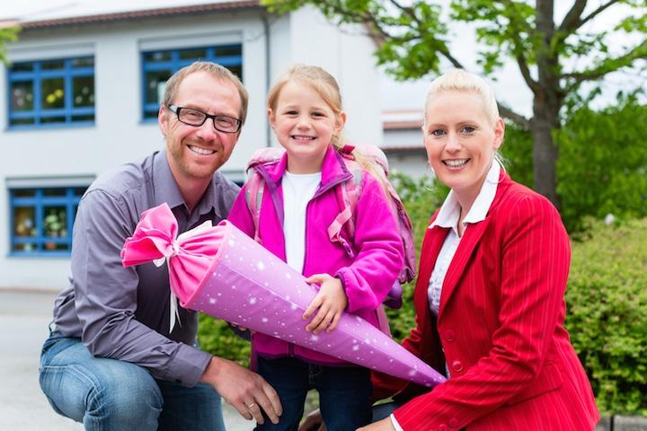 Einschulung Schulanfang | © panthermedia.net /Arne Trautmann