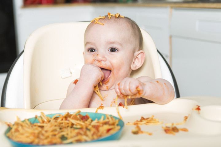 Spaghetti Baby | © panthermedia.net /Lopolo