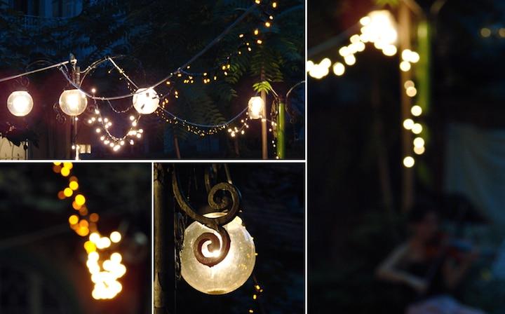 Lichter am Balkon   © panthermedia.net /re_bekka