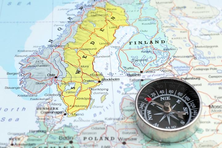 Norwegen Schweden Finnland | © panthermedia.net /MattiaATH